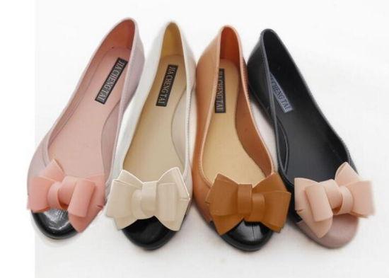 Lady Four Seasons Shoes PVC Jelly Shoes