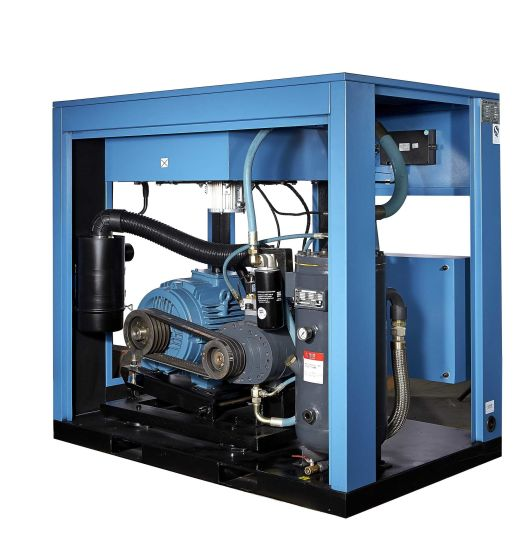 High Efficiency Heavy Duty Rotary Screw Air Compressor Industrial pictures & photos