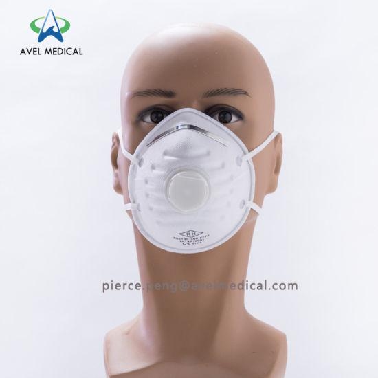 Disposable Respirator Mask Dust ffp2 Ffp1 Valve With N95