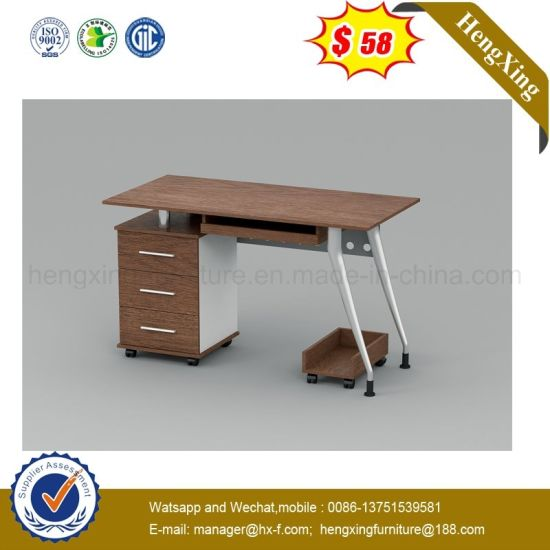 Longjiang Melamine Laminated Desk Beech Table Color Office Partition (UL-MFC488) pictures & photos