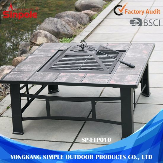 China Outdoor Furniture Multi Function Grill Fire Pit Bbq Garden