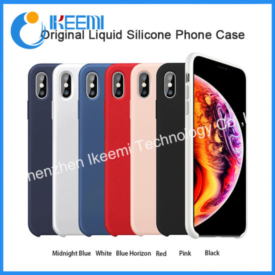 2019 New Mobile Phone Original Quality Liquid Silicone Phone Case Cell Phones Case