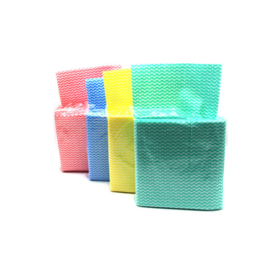 Multi-Purpose Household Wiping Spunlace Nonwoven Wipes/Rags/Cloth pictures & photos