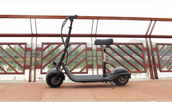 Small Electric Harley Scooter with 350W 48V/10ah Lithium Battery pictures & photos