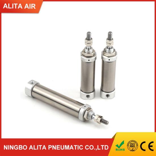 Single Acting Spring Return SMC Pneumatic Cylinder