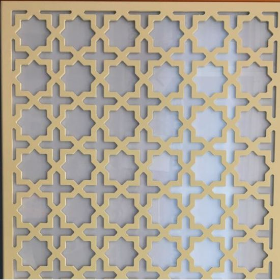 Aluminum Cnc Cutting Cladding For Ceiling Wall Decorative Using