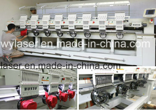 china 8 head 9 12 colors embroidery machine price in india barudan rh wylaser en made in china com Baru Dan Machine YouTube Search Used Embroidery Machines