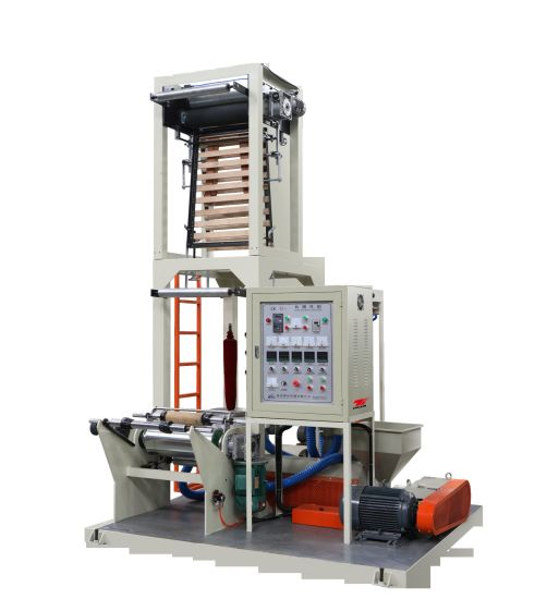 High Speed Automatic PE Film Blowing Machine with Auto Winder