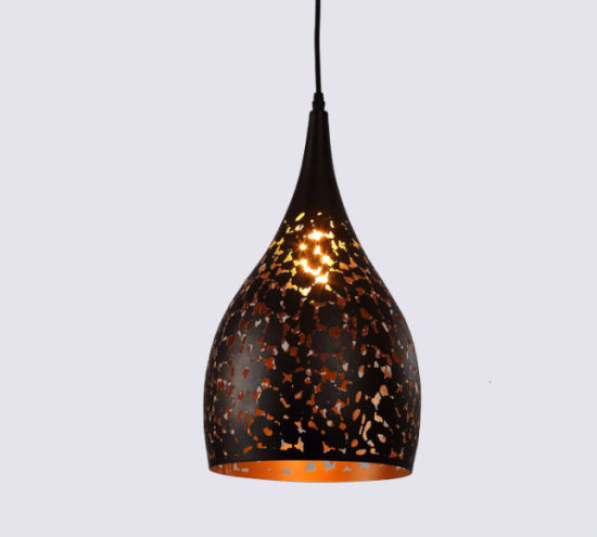 Wholesale Factory Direct Sale Iron Hollow Pendant Lights for Hanging Ceiling