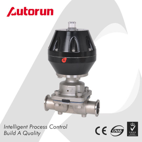 Stainless Steel 316L Sanitary Pneumatic Diaphragm Valve pictures & photos