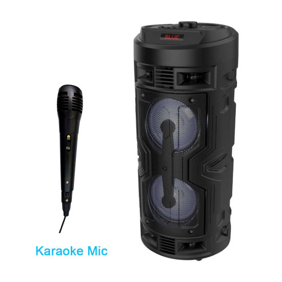 Professional Wholesale Portable Home Stereo Theater Bluetooth Audio Sound Speaker Box with Mic DJ Amplifier Mobile Powered Active Loud Wireless Party Speakers
