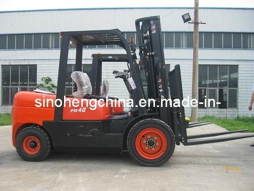 4 Ton Diesel Forklift, Lifting Equipment Sh40fr