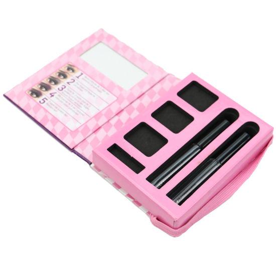 Custom Printing Cardboard Eye Liner Brow Pencil Eyelash Cosmetic Make up Packaging Paper Box
