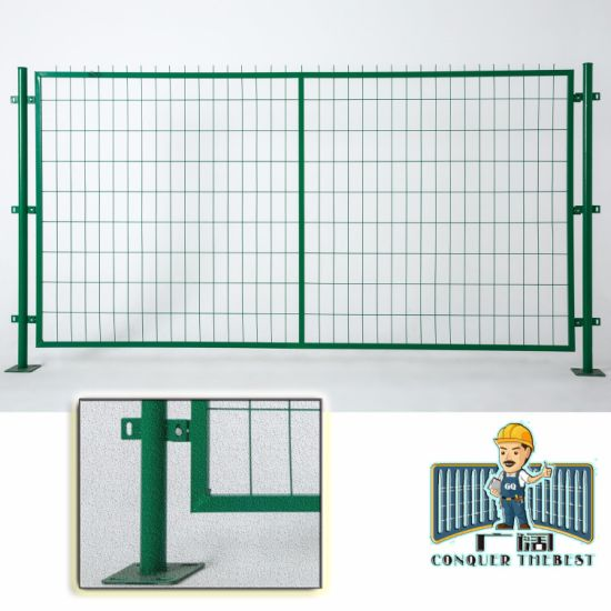 China Made Wholesale Vinyl Security Wire Mesh Fence