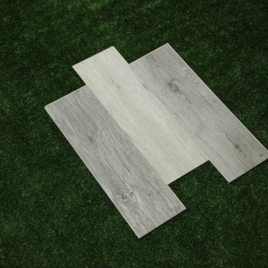 Wood Grain Premium Rigid Solid Polymer Core Spc Vinyl Flooring