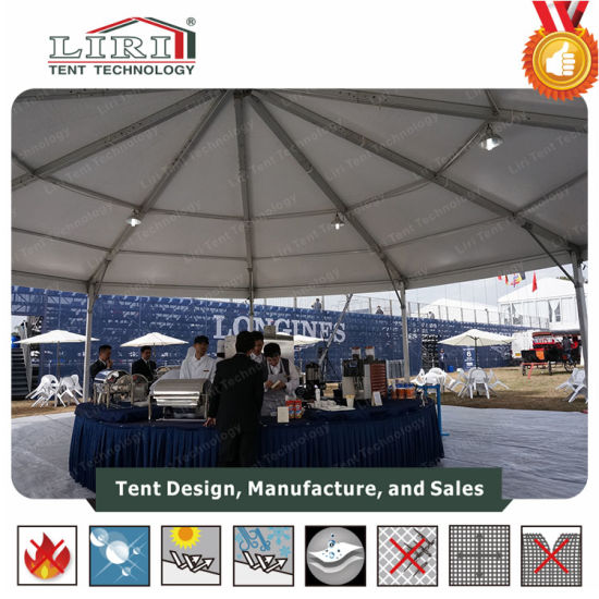 Octagonal Party Tent Decoration with Glass Wall (BT/OCT15/400) and Clear Roof & China Octagonal Party Tent Decoration with Glass Wall (BT/OCT15 ...