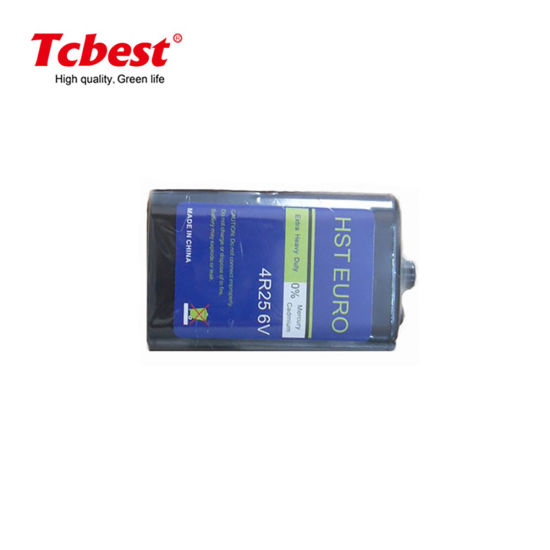 Tcbest Super Heavy Duty OEM Accept High Capacity 6V Super Heavy Duty 4r25 1000mins Size Battery Non-Rechargeable Battery