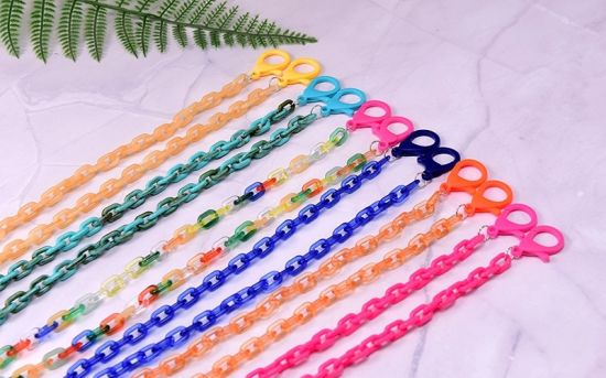 Adjustable Glasses Holder /& Hanger Elderly Children BOKIC Mask Lanyard for Kids Anti-lost Strap Necklace for Women Men