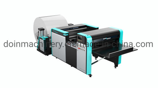 PP Polypropylene Plastic Book Binding Cover Protector Sheet, Notebook Cover Automatic Sheeting Machine Cross Cutting Machinery Sheeter