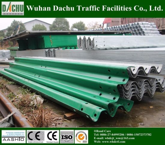 Zinc Coated Galvanized Steel Highway Guardrail pictures & photos