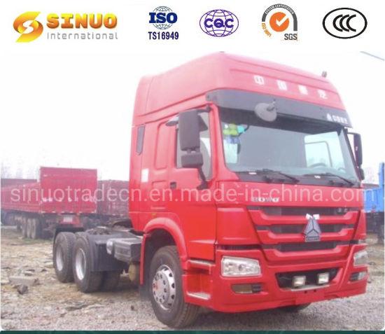Used 371HP/375 6X4 Sinotruk HOWO 10 Tyres Tractor Truck Heavy Duty Truck 10 Wheels Trailer Head Tractor Head 10 Tyres Truck Low Price Hot Sale