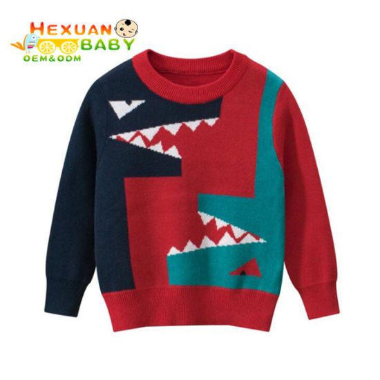 China Long Sleeve Cotton Children′s Pullover Sweaters, Kids Baby Boys′  Sweaters - China Sweater Boys and Baby Boys′ Sweaters price