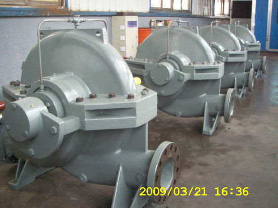 Single-Stage Double Suction Centrifugal Pump (S) pictures & photos