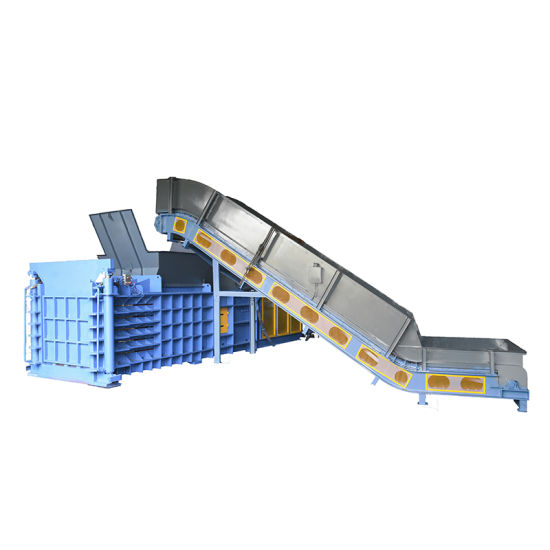 Horizontal Semi-Automatic Baler for Waste Plastic, Waste Paper Compacting