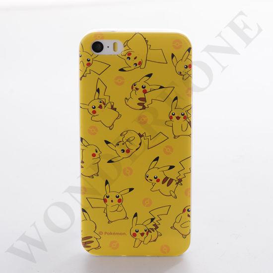 High Quality Pokemon Go Cartoon for Mobile Phone TPU Case