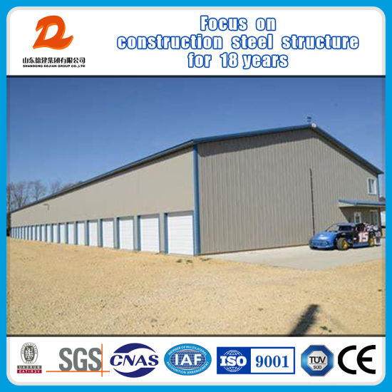 China Customized Light Weight Steel Structure Frame Workshop