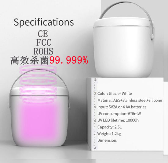 LED UV Light Sterilizer Box UVC Light Disinfection Box
