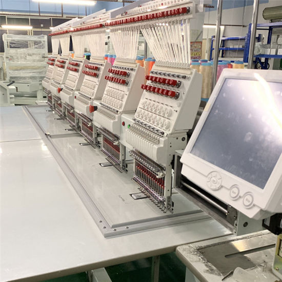Real 1000 Rpm 6 Head Computerized Hat Embroidery Machine Price From Wonyo Factory