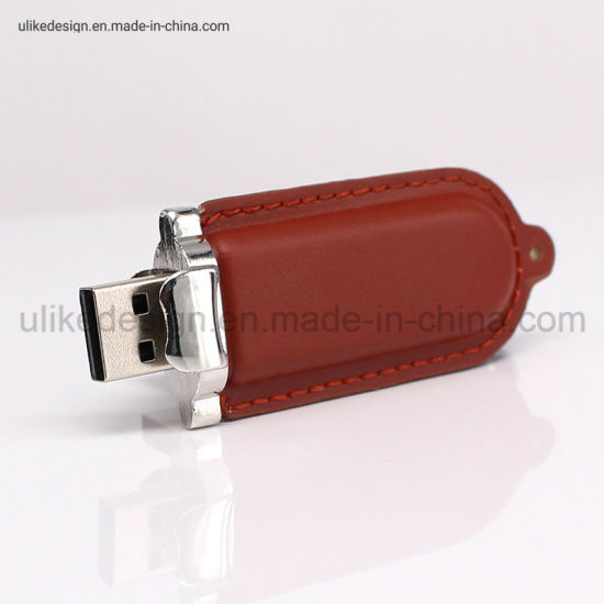 Full Color Leather Style USB Flash Drive