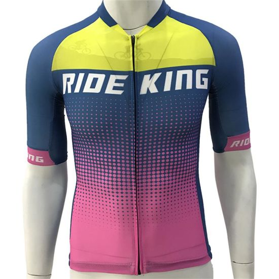 Breathable Bike Uniform Ride Short Sleeve Shirt Clothing Cycling Jerseys with Great Quality