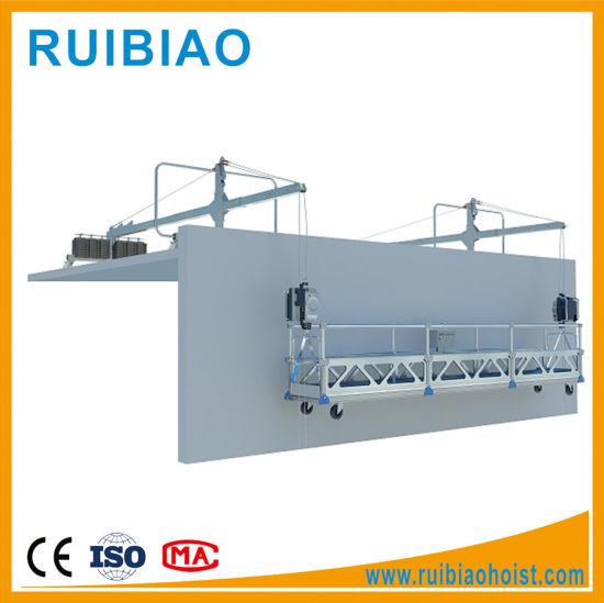 Electric Scaffolding Zlp630 Powered Platform Ltd63 Hoist Suspended Platform