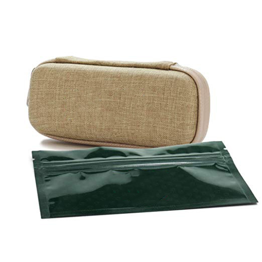 Hemp Smell Proof Tobacco EVA Case Container with Carbon Lining