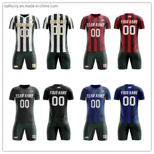 Factory Wholesale Sublimation Sports Jersey Uniform Soccer Shirt for Club