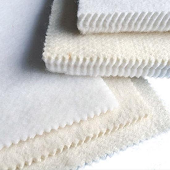Commercial Nomex Ironing Laundry Equipment / off White Machine Padding Felt