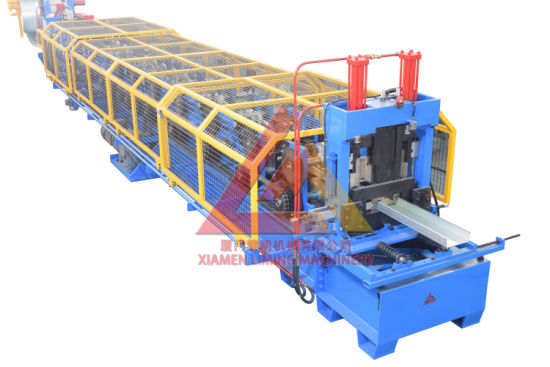 PLC Control Automatic C/Z Purlin Making Machinery with PLC Control C/Z Channel Roll Forming Machine with ISO90001/Ce
