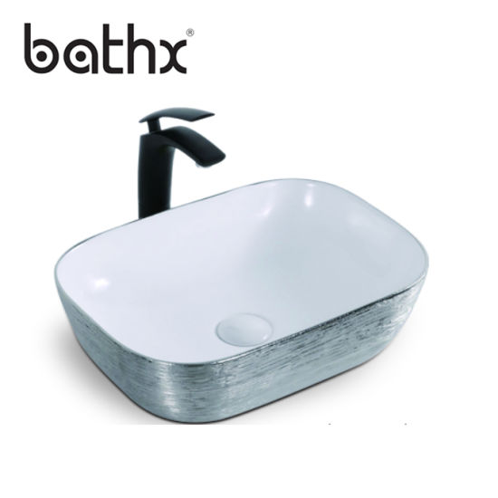 New Style Artistic Basin Vanity Solid, Artistic Bathroom Sinks