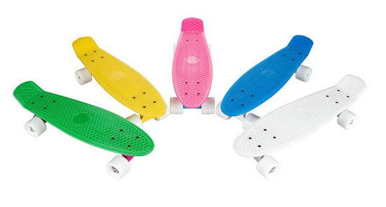 22 Inch Mini Plastic Skateboard Fish Board Cruiser