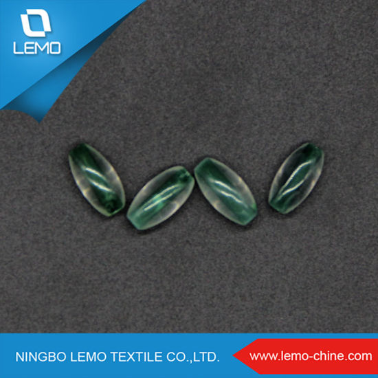Spindle Shape 12mm New Fashion Green ABS Plastic Beads