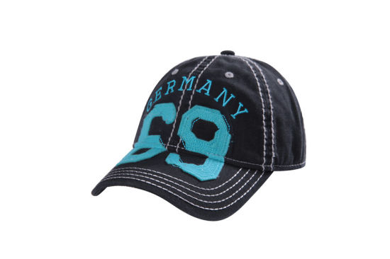 Fashion Custom Felt Patch Heavy Stitching Sports Baseball Cap