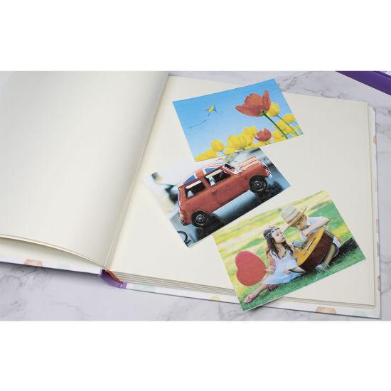 Photo Album 4x6 400 Photos Large Capacity Printed Cover Memo Album Wedding Family Photo Albums Holds 400 Horizontal And Vertical Photos