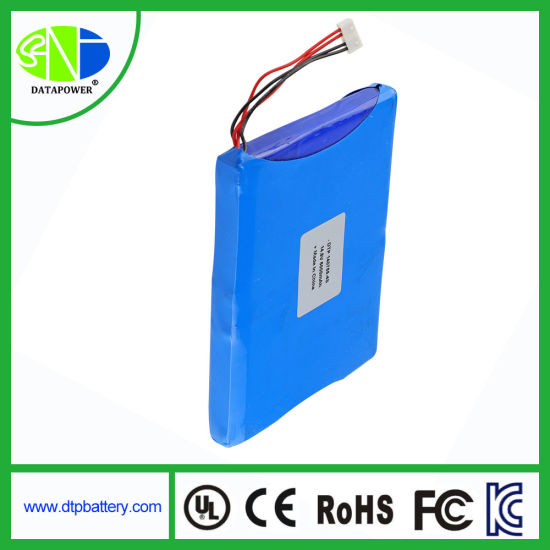 4s 14.8V 5000mAh Ultra Thin Lithium Polymer Batteries for Laptop PC/Power Supply