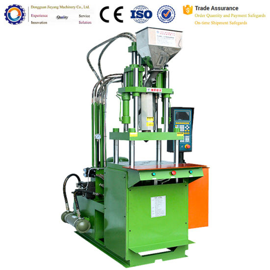 Hot Sale Semi-Automatic PP PVC PS PC ABS PA Plastic Vertical Injection Machine pictures & photos