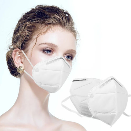 Ce FDA Approved Antidust Earloop Protective Disposable 4 Ply Kn95 Face Mask