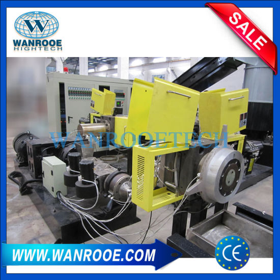 Double Stage Die Mould PE PP Plastic Granulating Machine pictures & photos