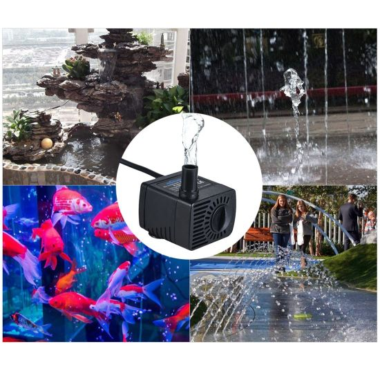 Mini DC 5V Quiet Motor Submersible Brushless Water Pump for Small Fountain pictures & photos