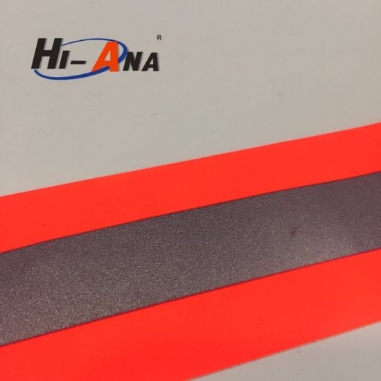 High Quality Dry Fit Customization High Visibility Checkered Reflective Tape pictures & photos
